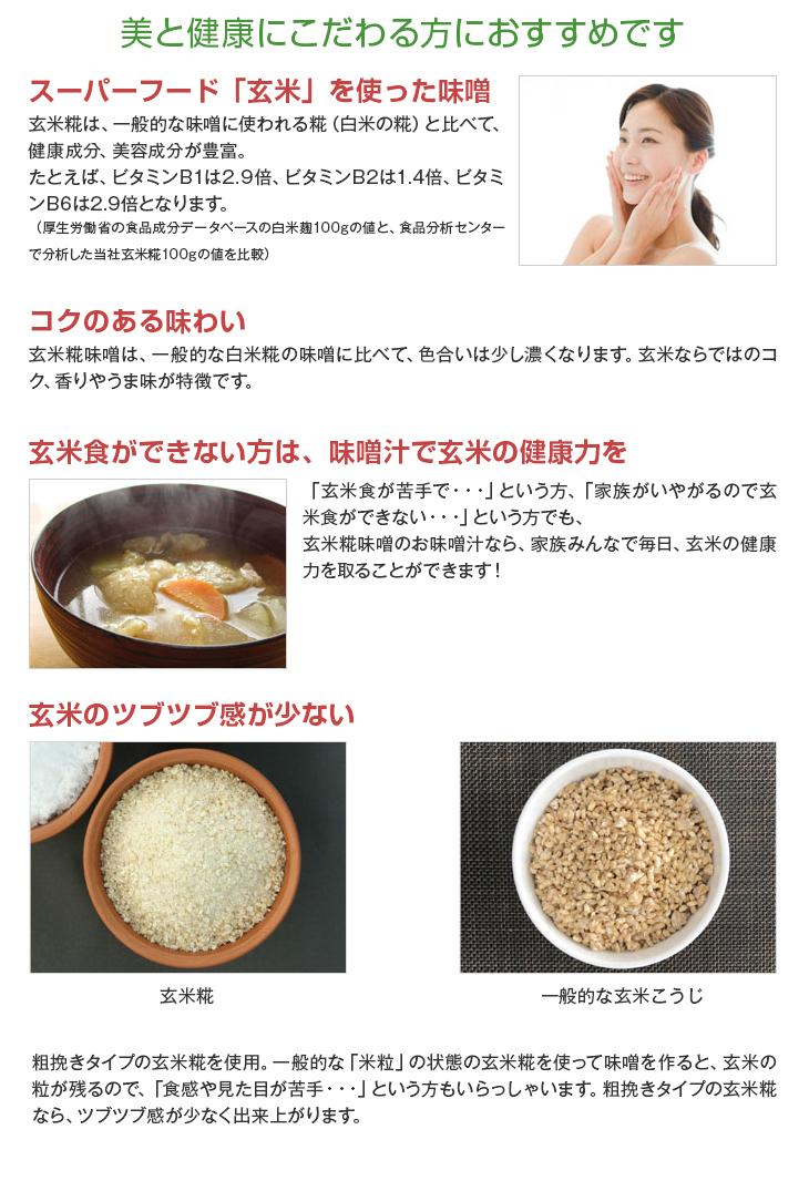 玄米糀味噌セット